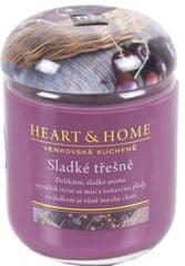 Albi Heart & Home velká svíčka Sladké třešně