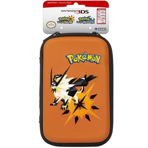 HORI New 3DS XL Hard Pouch - Pokémon Ultra Sun & Moon