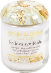 Albi Heart & Home malá svíčka Perlová symfonie