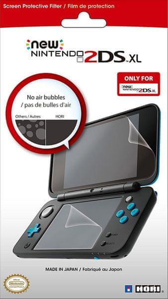 HORI New 2DS XL Protective Screen Filter