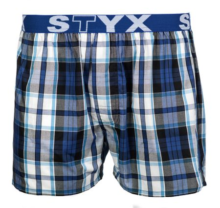 Styx moške boksarice XL modra