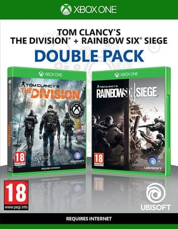 Ubisoft Rainbow Six Siege + The Division DuoPack / Xbox One