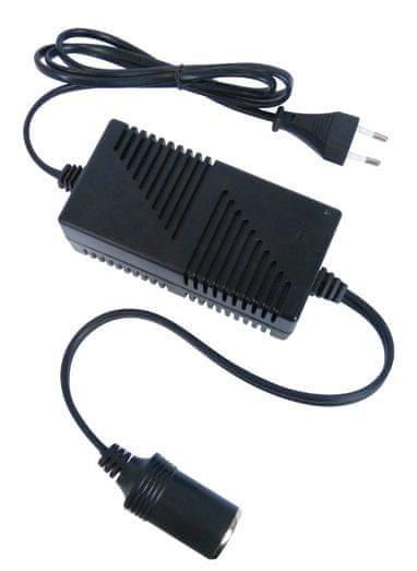 CarPoint Měnič napětí 230V - 12V 4.5A
