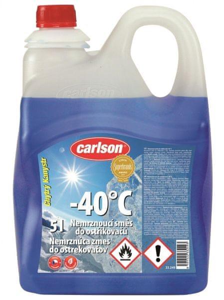 Carlson Zimní směs do ostřikovačů -40°C 5L