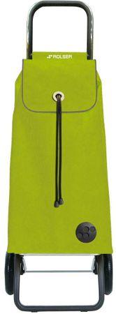 Rolser Nákupní taška na kolečkách I-Max MF Convert RG, zelená