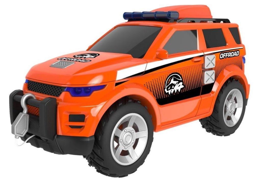 Alltoys Teamsterz terénní jeep se zvukem a světlem