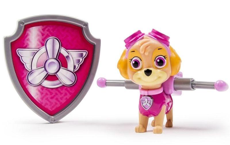 Spin Master Paw Patrol Figurka s akčním batohem Skye