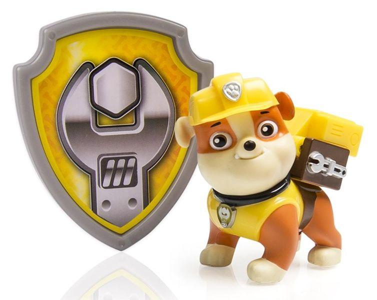 Spin Master Paw Patrol Figurka s akčním batohem Rubble