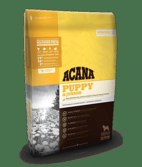 Acana HERITAGE Puppy & Junior 11,4 kg