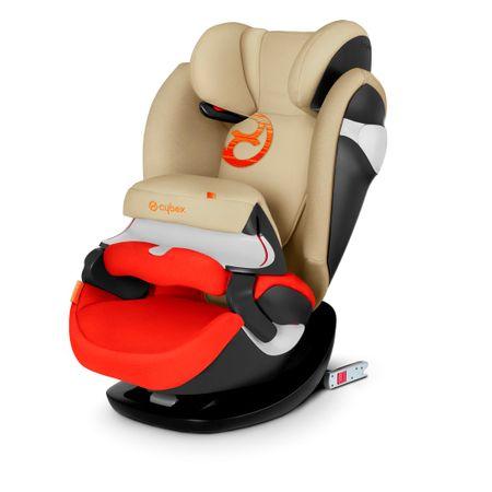 Cybex otroški avtomobilski sedež Pallas M-Fix 2018, oranžno-bež