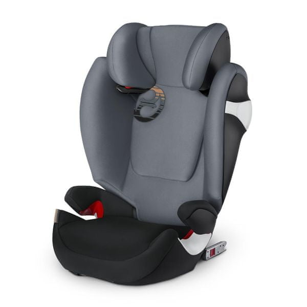Cybex Solution M-fix Pepper Black 2018