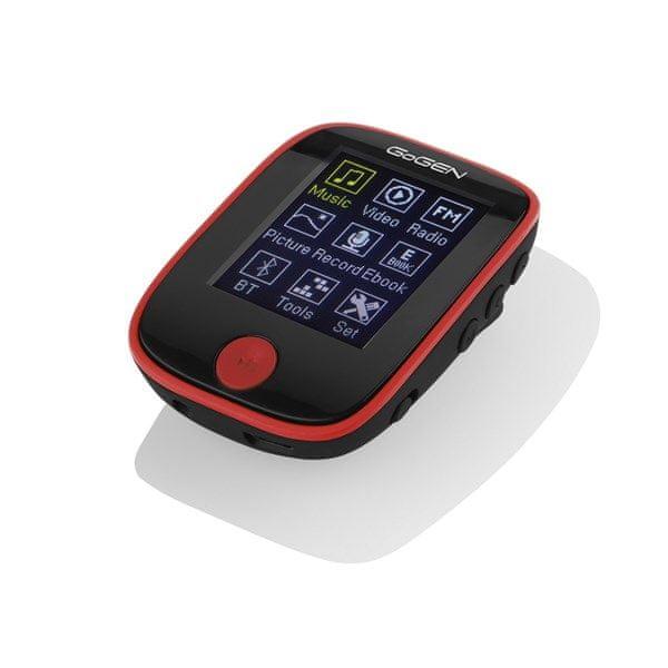 GoGEN MXM 421 4GB, černá/červená