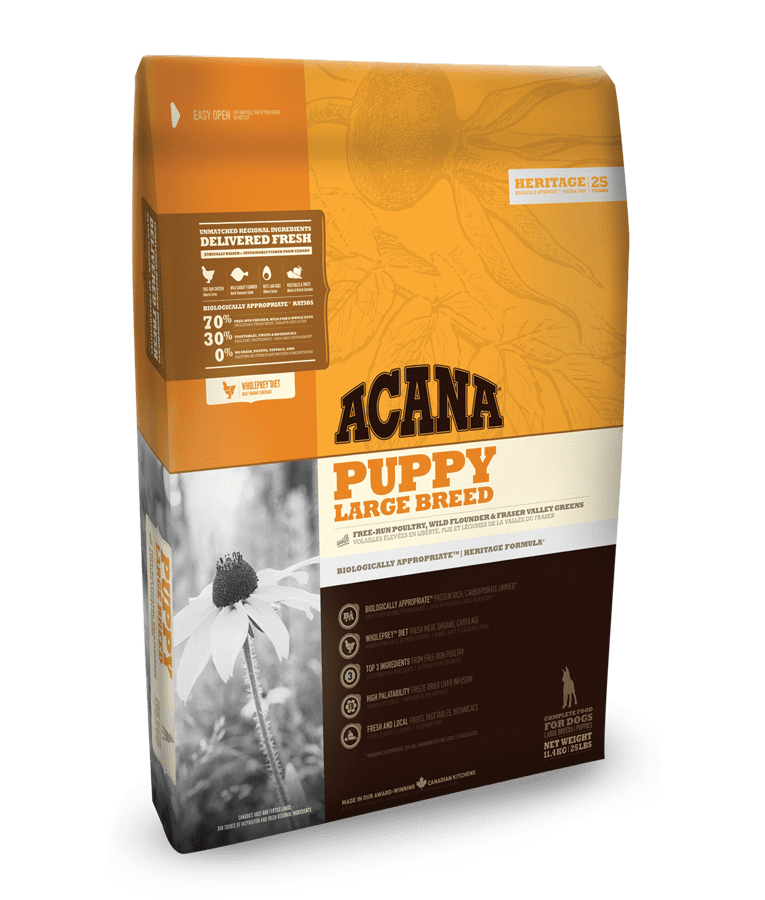 Acana HERITAGE Class. Puppy Large Breed 17 kg