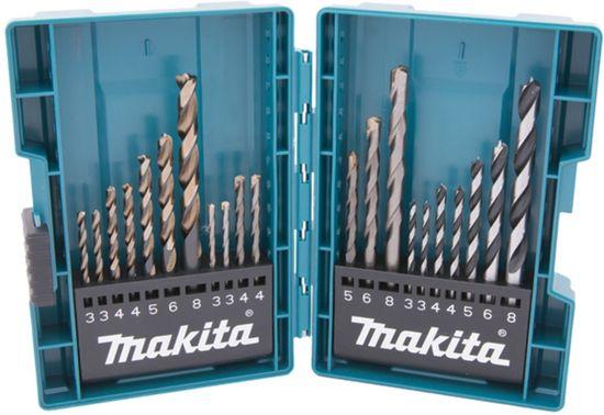 Makita B-44884 Fúrók készlet MIX 21 darabos