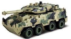 Alltoys Tank 4WD spätné naťahovanie - svetlý