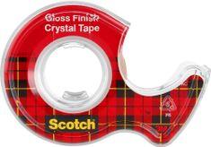 Scotch Lepicí páska s odvíječem 19 mm x 7,5 m Crystal