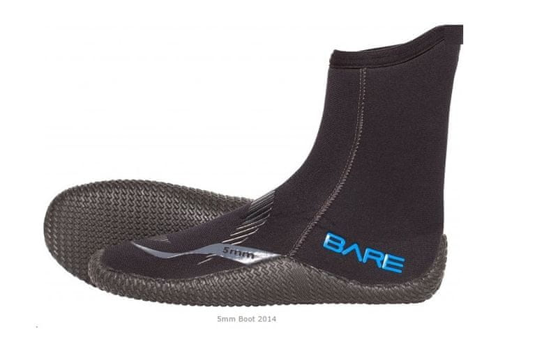 BARE Boty 5mm - model 2014, XL(43-44)/10