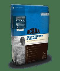Acana Dog Cobb Chicken & Greens Heritage 17 kg