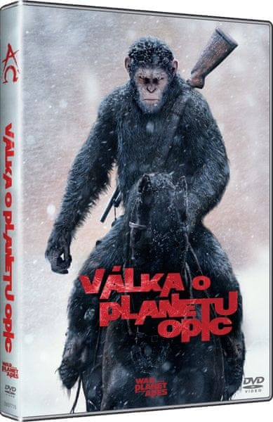 Válka o planetu opic - DVD