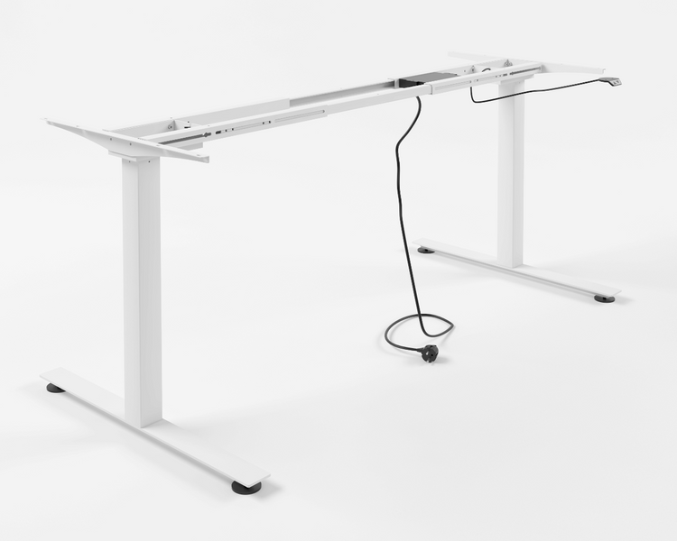 Výškově nastavitelný stůl - Standard (bílý)