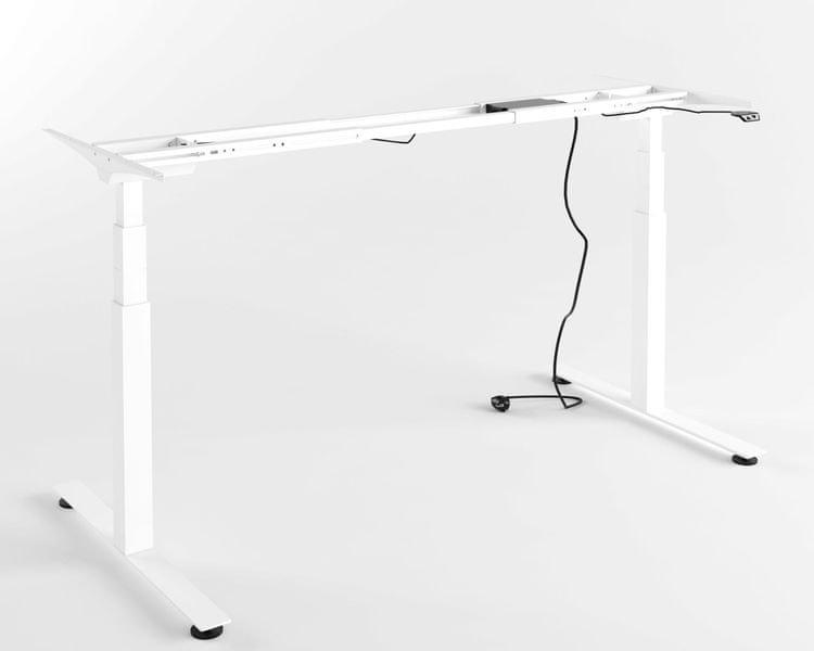 Výškově nastavitelný stůl - PRO (bílý)