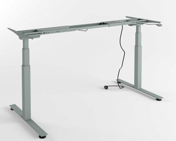 Výškově nastavitelný stůl - PRO (aluminium)