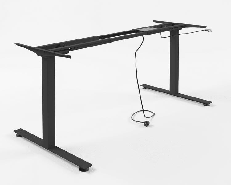 Výškově nastavitelný stůl - Standard (černý)