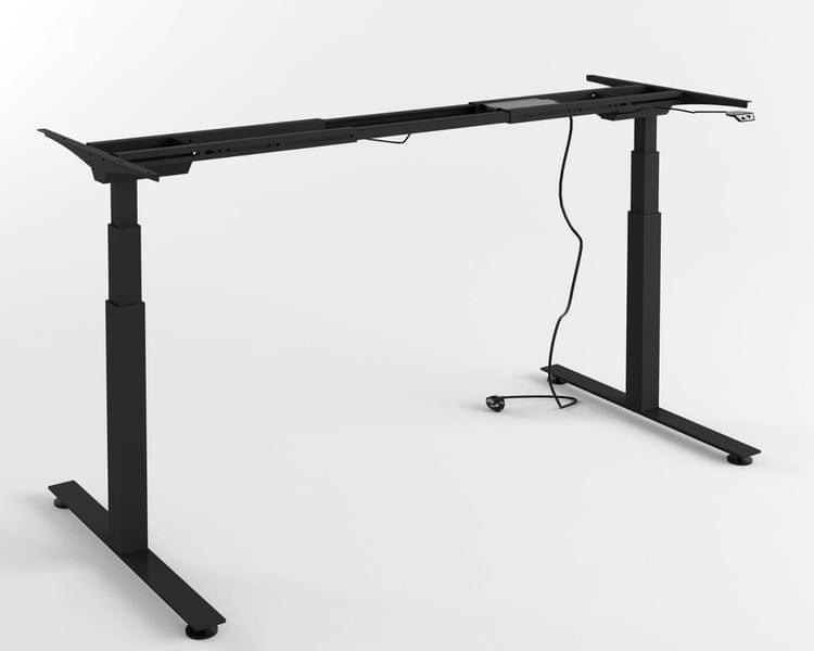 Výškově nastavitelný stůl - PRO (černý)