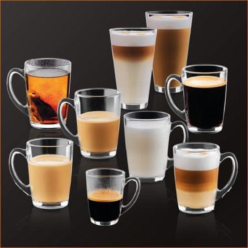 Krups automatický kávovar Evidence EA891C10 Chrom + nádržka na mléko - použité