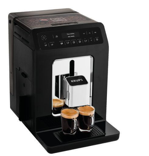 Krups automatický kávovar Evidence EA890810 černá - použité