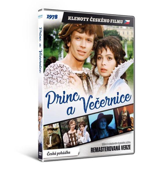 Princ a Večernice - edice KLENOTY ČESKÉHO FILMU (remasterovaná verze) - DVD