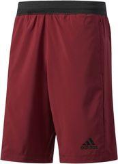 Adidas moške kratke hlače D2M, bordo rdeče