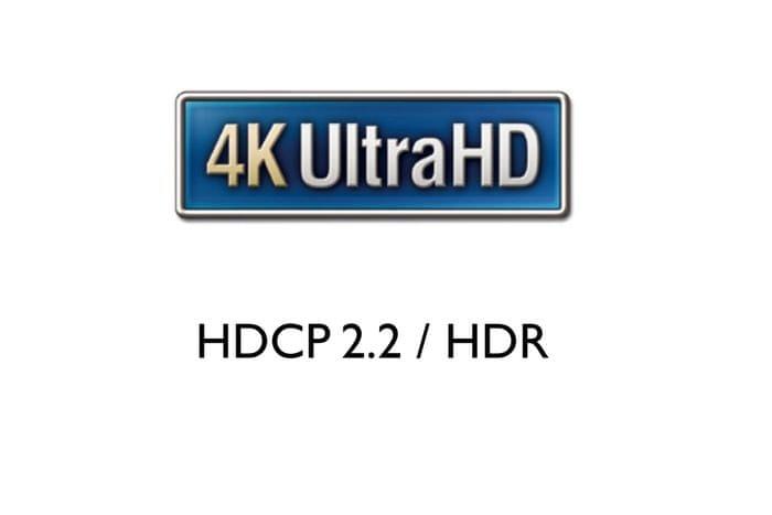 HDMI 4K/60 Hz