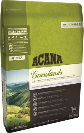 Acana hrana za pse, Regionals Grasslands dog, 11,4 kg