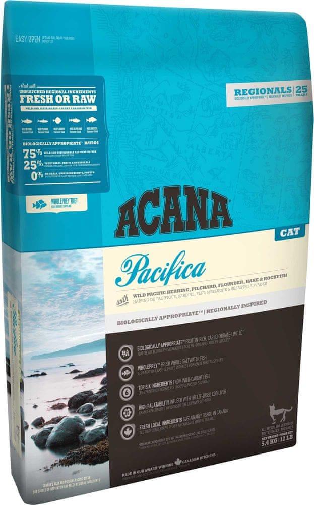 Acana Regionals Pacifica Cat 5,4 kg