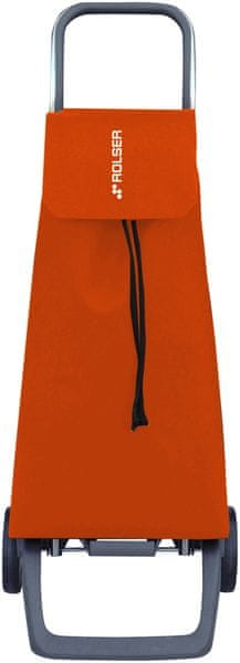 Rolser Nákupní taška na kolečkách Jet LN Joy, oranžová