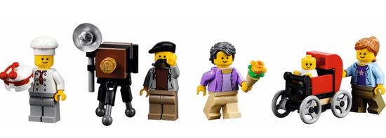 LEGO Creator Expert 10255 Trgovine in storitve