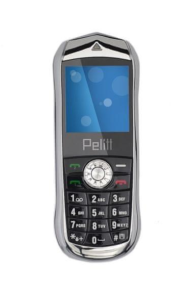 Pelitt Mini1, Dual SIM, černý
