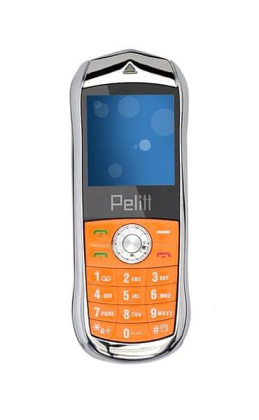 Pelitt Mini1, Dual SIM, oranžový