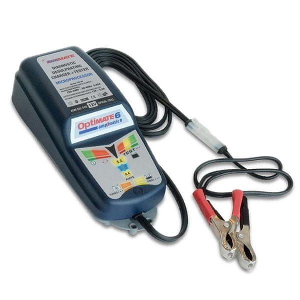 OptiMate 6 Ampmatic multifunkční nabíječka baterií 12V/5A s mikroprocesorem