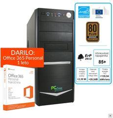 PCplus namizni računalnik I-Net A8-9600/4GB/1TB/Windows 10 + darilo: 1 leto Office 365 Personal