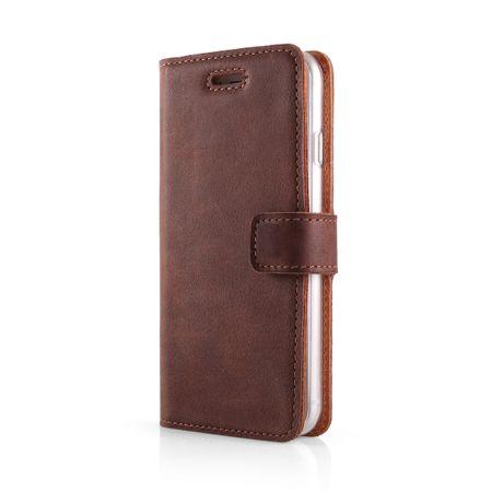 Surazo Onasi preklopna torbica za Samsung Galaxy Note 8, rjav