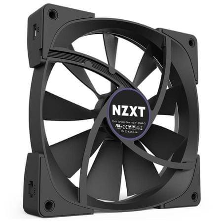 NZXT LED RGB 140 mm ventilator Aer RGB (RF-AR140-B1)