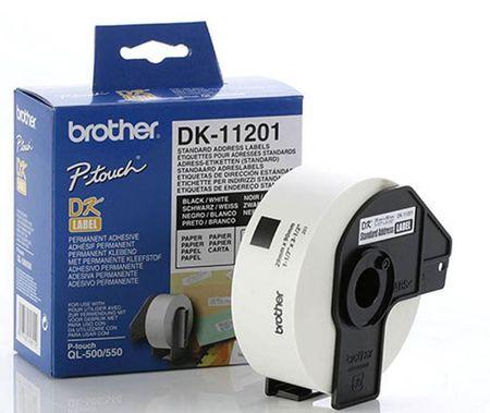 Brother termalne nalepke DK11201, 29 x 90 mm
