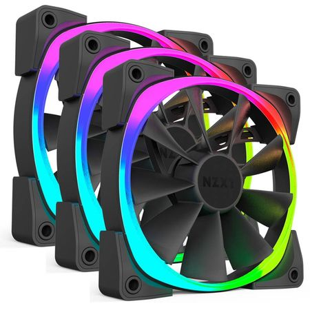 NZXT LED RGB pack 120 mm ventilator Aer RGB (RF-AR120-T1)