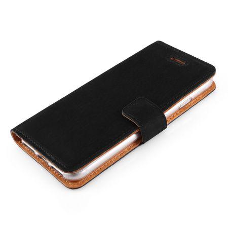 Surazo Onasi preklopna torbica za iPhone 8, črna