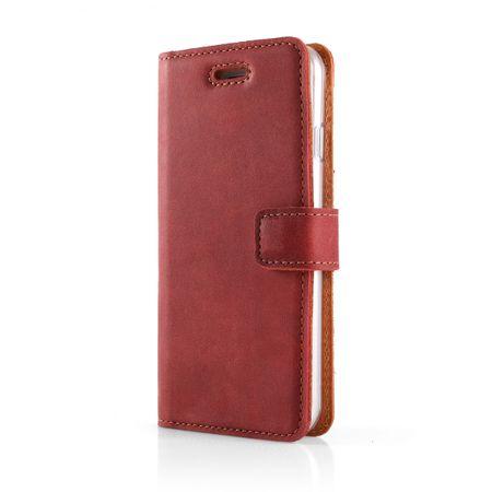 Surazo Onasi preklopna torbica za iPhone 8 Plus, rdeča