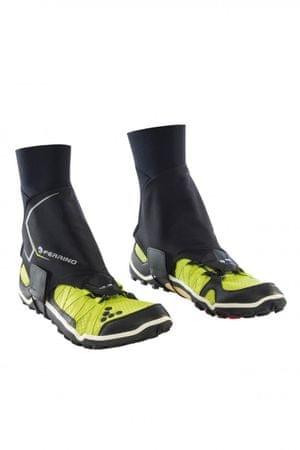 Ferrino tekaške kratke gamaše X-Track, črne