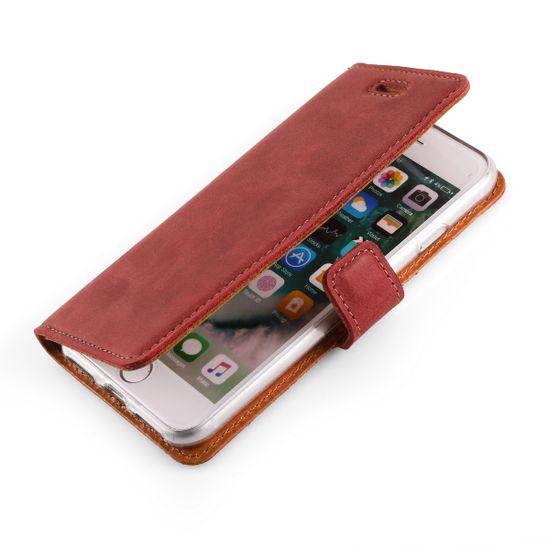 Surazo Onasi preklopna torbica za iPhone X, rdeča