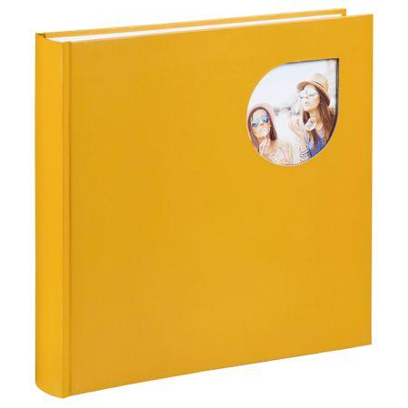 Hama foto album Cumbia, 30 x 30 cm, 80 strani, rumen